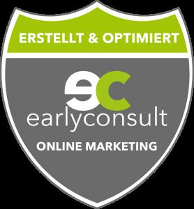 Diese Website wurde von earlyconsult GmbH erstellt und optimiert